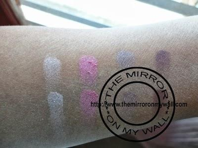 Faces Go Chic Eye Shadow Quad - 01 Wine Timed