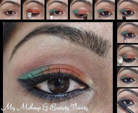 eye makeup contest entry 2 orange fever  paperblog