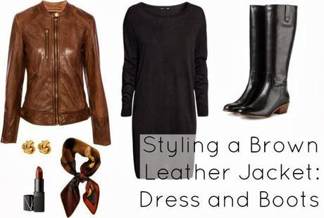 Ask Allie: Styling a Brown Leather Jacket Four Ways