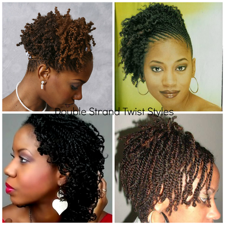 Unique Double Amp Two Strand Twisted Natural Hair Styles