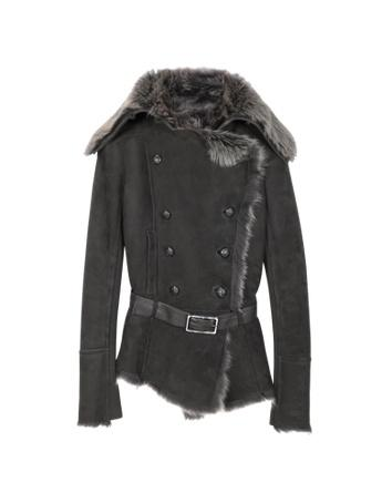 fz461111 022 1xx Fur Trim Shearling Jacket