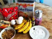 Banana Walnut Mini Muffins with Maltesers