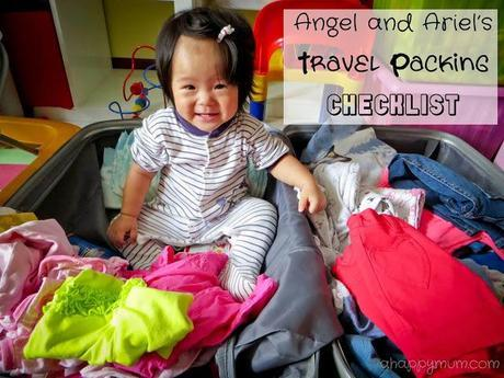 A look into our travel packing checklist
