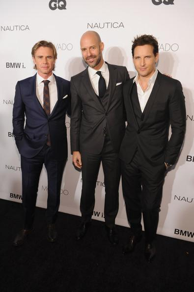 Sam Trammell Peter Facinelli Chris Mitchell GQ Gentlemens Ball 2013 Dimitrios Kambouris Getty 2