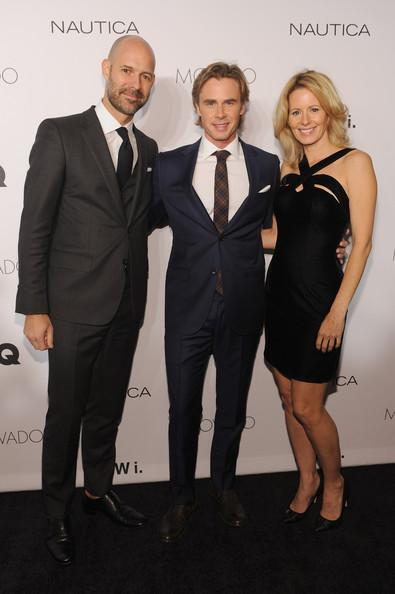 Sam Trammell Missy Yager Chris Mitchell GQ Gentlemens Ball 2013 Dimitrios Kambouris Getty