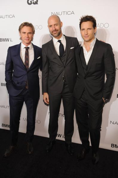 Sam Trammell Peter Facinelli Chris Mitchell GQ Gentlemens Ball 2013 Dimitrios Kambouris Getty 3