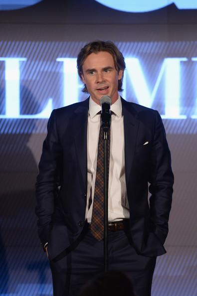 Sam Trammell GQ Gentlemens Ball 2013 Dimitrios Kambouris Getty