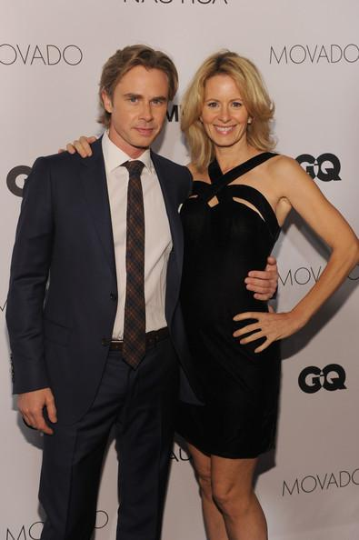 Sam Trammell and Missy Yager GQ Gentlemens Ball 2013 Dimitrios Kambouris