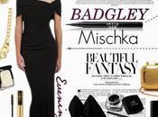 Create Glamorous Look Badgley Mischka Designer Evening Dress!