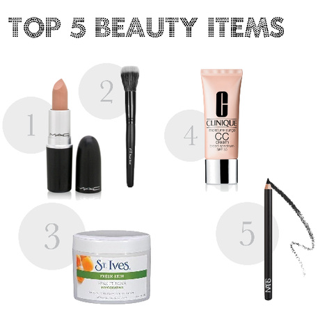 My Top 5 Beauty Items of All Time