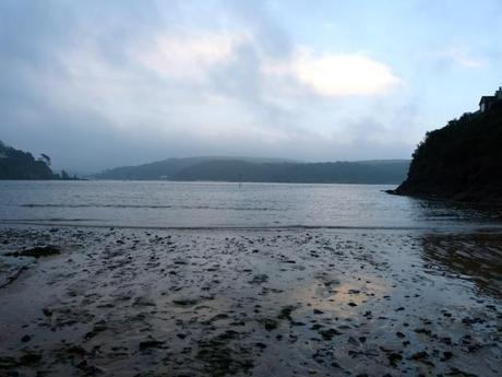 South Sands Beach at dusk