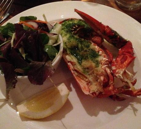 Lobster; South Sands restaurant