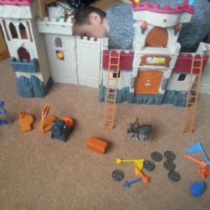 Imaginext Action Tech Castle – A review