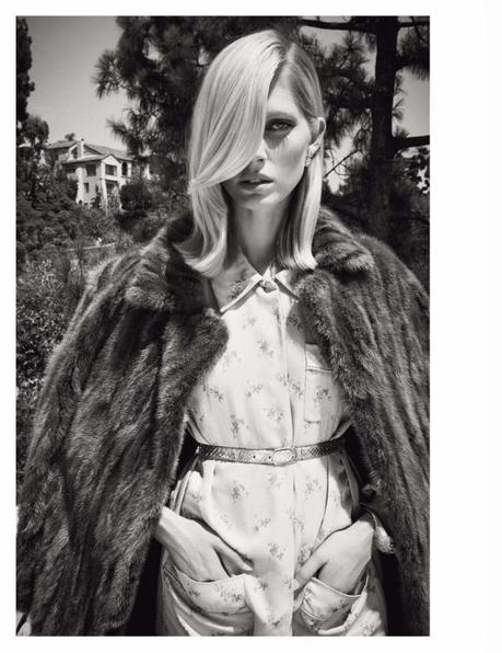 Iselin Steiro by Glen Luchford for Vogue Paris November 2013