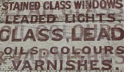 Ghost signs (101): the walk