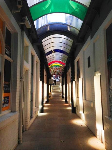 bridlesmith walk nottingham shopping arcade leading to the walk cafe reviews