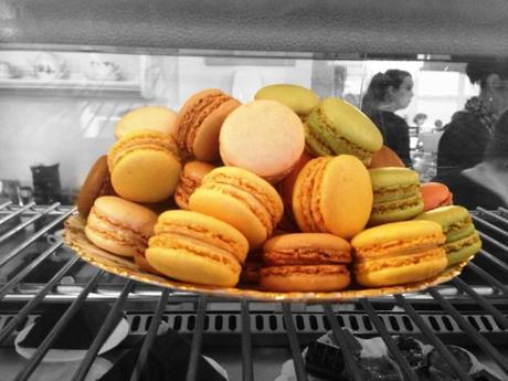 bright macarons at the walk cafe nottingham