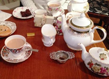 vintage fine china teapots and teacups at the walk nottingham