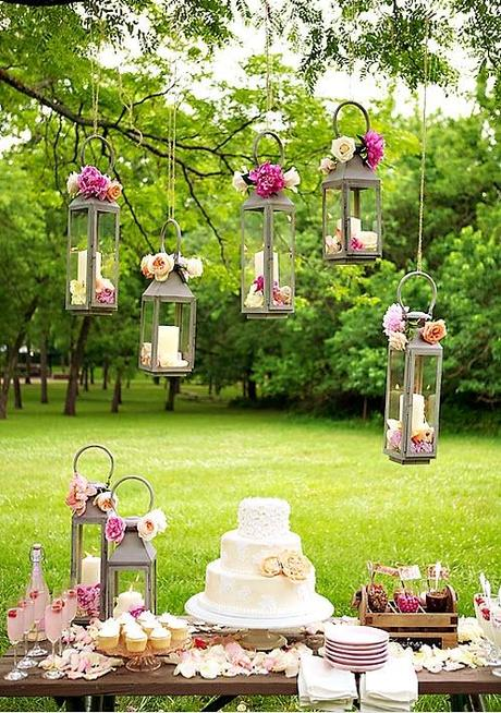 Outdoor Decorations For Wedding Shower : Gorgeous outdoor wedding showers paper