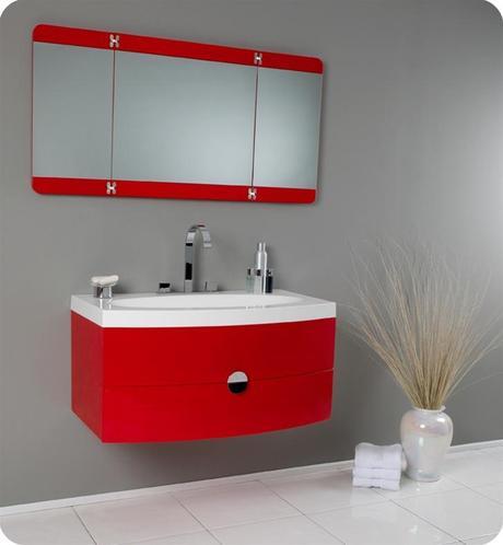 36 Inch Energia Modern Bathroom Vanity