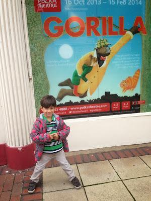 Review:The Gorilla at Polka Theatre