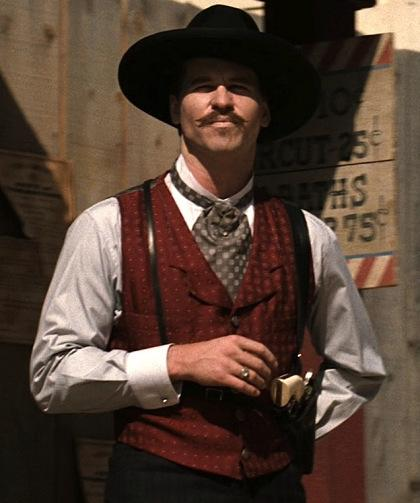 7a2382b394f Val Kilmer as Doc Holliday in Tombstone - Paperblog