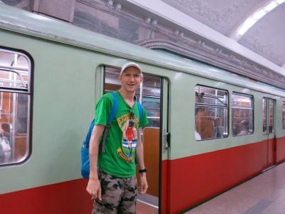 jonny blair pyongyang metro