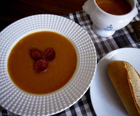 A warming Autumnal Soup