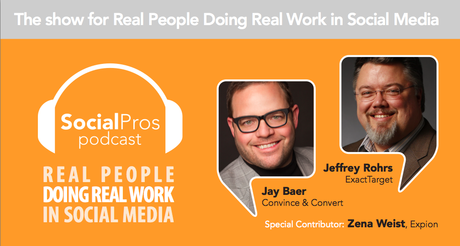 Podcast Guest on Social Pros
