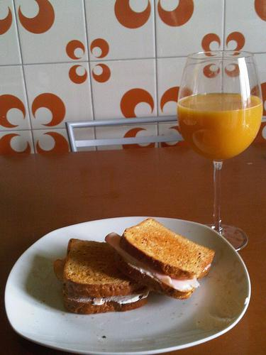TOAST WITH AN AMAZING TASTE