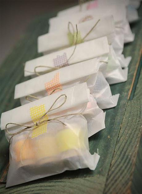 Washi Tape Wedding Ideas