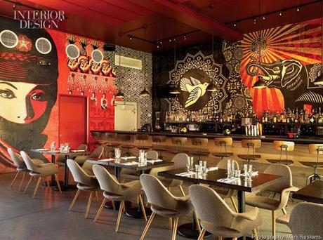 When Street Art And Food Meet Restaurant Design Paperblog