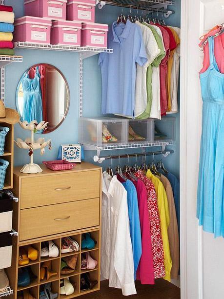 Closet Organizing Inspiration Paperblog