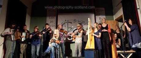 Photo - finale at the last concert of Ceol Cholasa 2011