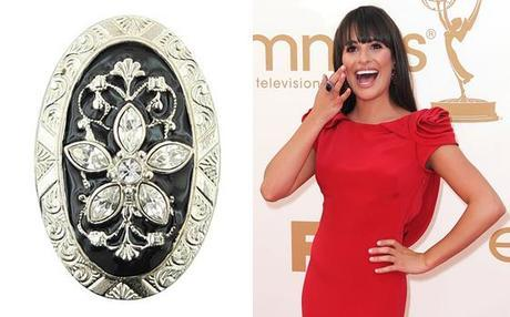 Lea Michele 74225Fab Find Friday: The Emmys Red Carpet Looks for Less
