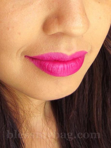 "IN2IT Moisture Intense Lipstick ""Pink Alarm"" – Dupe for MAC Show Orchid or NARS Schiap"