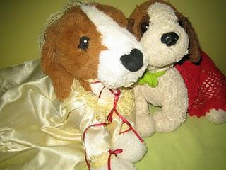 Fluffy and Rescue Get Married