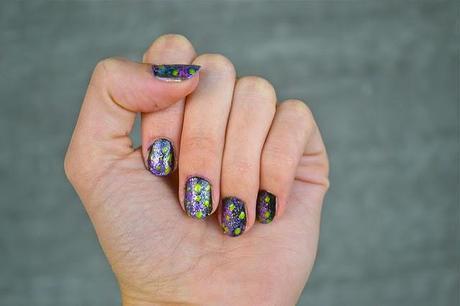 DIY: Galaxy Nails