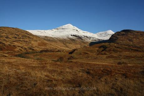 Landscape photo - Ben More on Mull, capped with snow