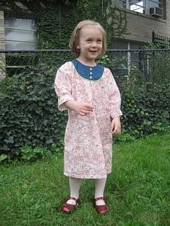 Oliver + S Playdate dress . finally