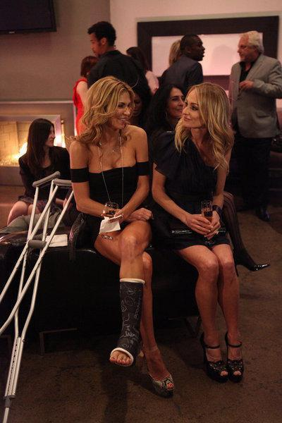 The Real Housewives Of Beverly Hills: Gossip Girls Getting Crazy. Kim Crazy. Spy Crazy. And Crazy On A Crutch.