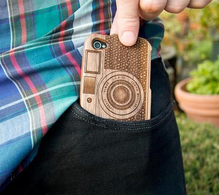 Beautiful Wooden Cases Designed For IPhone 5