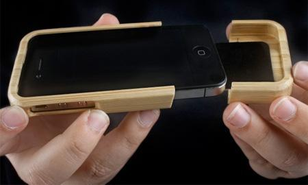 Beautiful Wooden Cases Designed For IPhone 1