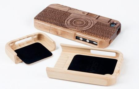 Beautiful Wooden Cases Designed For IPhone 3
