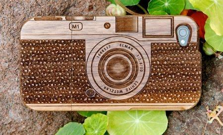 Beautiful Wooden Cases Designed For IPhone 7