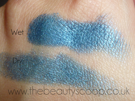 MAC Blue Flame - Swatch & Mini Review!