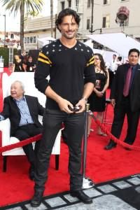 Joe Manganiello Premiere of IRIS 2