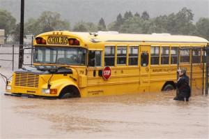 Vermont School Fundraising and Charity for Hurricane Irene
