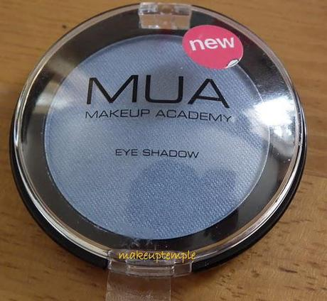 Swatches:Eye Shadow: MUA: Makeup Academy: MUA Eye Shadow No:23 Pearl Swatches