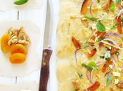 Focaccia with Onions-Dried Apricots-Walnuts Blue Cheese Movie To...